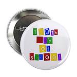 Bright Colors 100th Day Button
