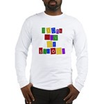 Bright Colors 100th Day Long Sleeve T-Shirt