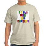 Bright Colors 100th Day Ash Grey T-Shirt