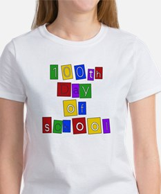 Bright Colors 100th Day Tee