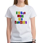 Bright Colors 100th Day Women's T-Shirt