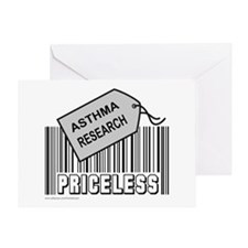 ASTHMA CAUSE Greeting Card