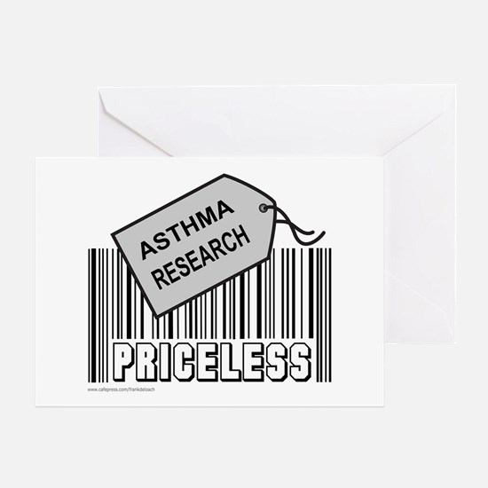 ASTHMA CAUSE Greeting Card