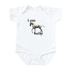 baby horse photo on Infant Bodysuit