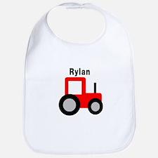 Rylan - Red Tractor Bib
