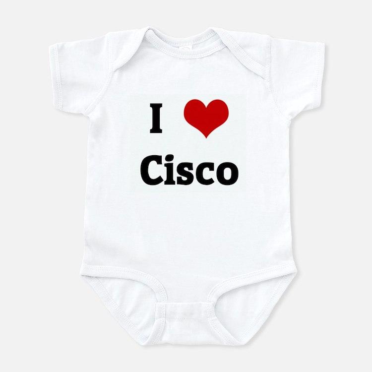 I Love Cisco Infant Bodysuit
