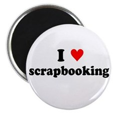 I {heart} Scrapbooking Magnet