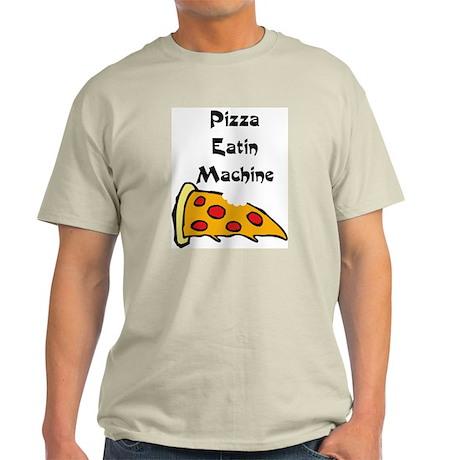 PIZZA EATING MACHINE Light T-Shirt