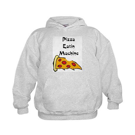 PIZZA EATING MACHINE Kids Hoodie