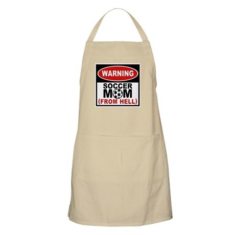 Soccer Mom from Hell BBQ Apron