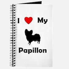 I Love My Papillon Journal