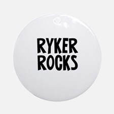 Ryker Rocks Ornament (Round)