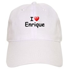 I Love Enrique (Black) Baseball Cap