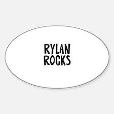 Rylan Rocks Oval Decal