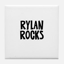 Rylan Rocks Tile Coaster