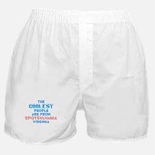 Coolest: Spotsylvania, VA Boxer Shorts