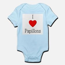 I Love Papillons Infant Creeper