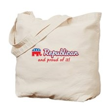 Republican and Proud Of It Tote Bag