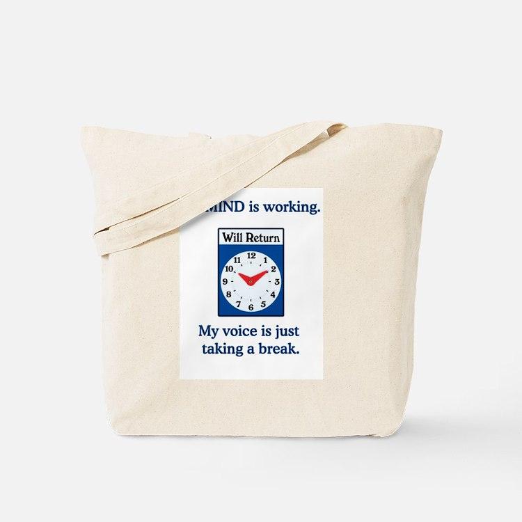 Aphasia Awareness Tote Bag