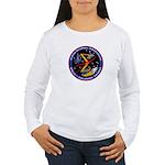 Spaceflight Memorial Patch Women's Long Sleeve T-S