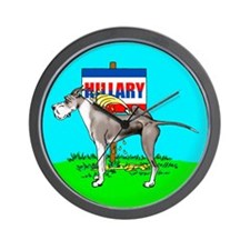 Mantle Dane Pi$$ on Hillary Wall Clock