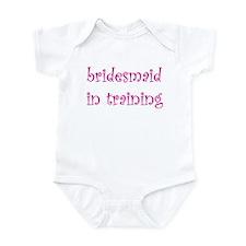 Bridesmaid in training Infant Bodysuit