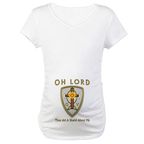 Christian Sun Shield Maternity T-Shirt