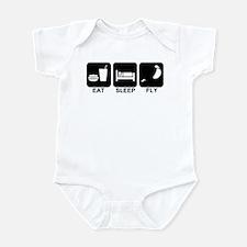 Paraglider Eat Sleep Fly Infant Bodysuit