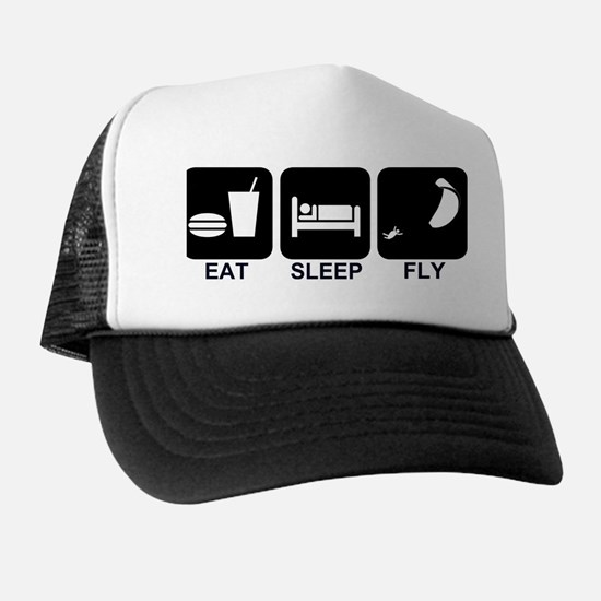 Paraglider Eat Sleep Fly Hat