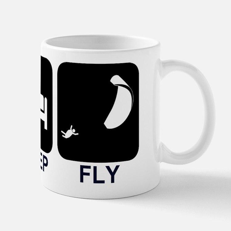 Paraglider Eat Sleep Fly Mug