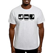 Paraglider Eat Sleep Fly T-Shirt