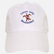 Leave Only Bubbles Baseball Baseball Cap