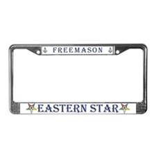 OES/Masons License Plate Frame
