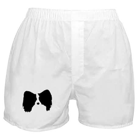 Adult Papillon Head Boxer Shorts