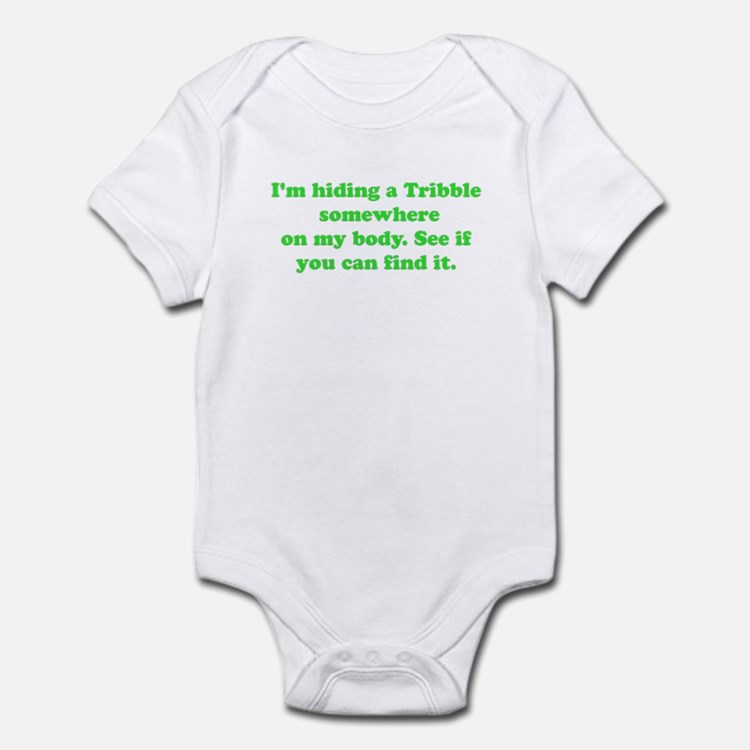 Hiding a tribble Infant Bodysuit