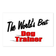 """""""The World's Best Dog Trainer"""" Postcards (Package"""