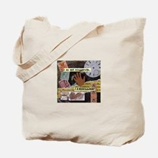 Cute Mixed media Tote Bag