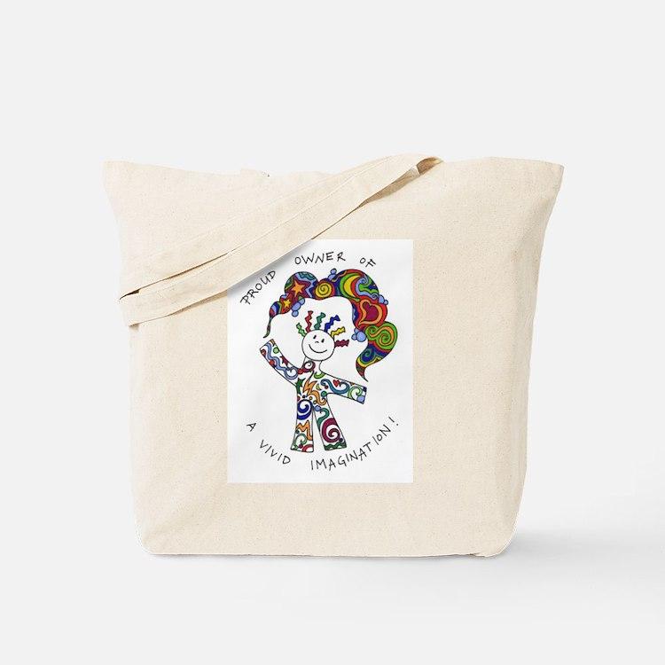 Cute Vivid imagination Tote Bag