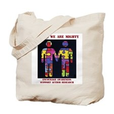 Funny Autism cure Tote Bag