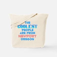 Coolest: Newport, OR Tote Bag