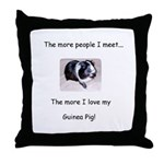More people I meet, I love my guinea pig! Pillow