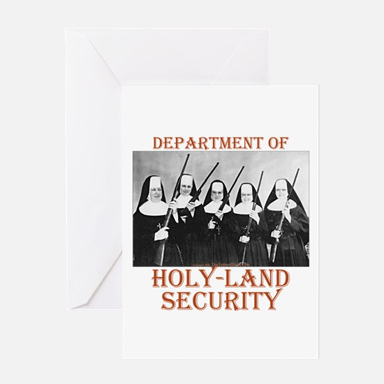 Holy-Land Security Greeting Card
