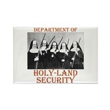 Holy-Land Security Rectangle Magnet