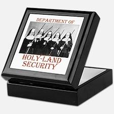 Holy-Land Security Keepsake Box