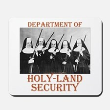 Holy-Land Security Mousepad