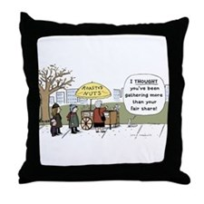 Roasted Nuts Throw Pillow