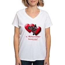 """""""A Motocrosser Loves Me"""" Shirt"""