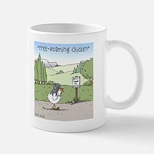 """Free-Roaming Chicken"" Small Small Mug"