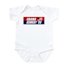 OBAMA KENNEDY FOR PRESIDENT 2 Infant Bodysuit