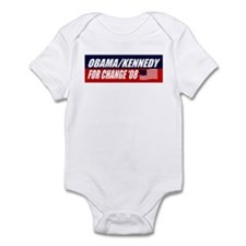 OBAMA KENNEDY FOR CHANGE 2008 Infant Bodysuit